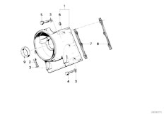 E34 535i M30 Sedan / Engine Upper Timing Case