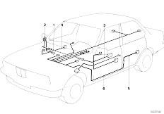 original parts for e30 318i m10 4 doors    vehicle