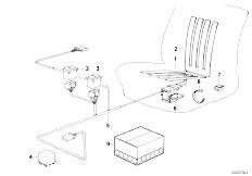 E30 325i M20 Cabrio / Seats Seat Heating