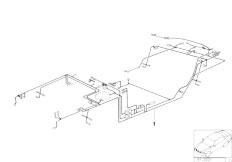 E39 520i M52 Sedan / Vehicle Electrical System/  Main Wiring Harness