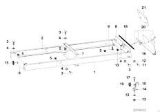 E46 330xd M57 Sedan / Universal Accessories Trailer Indiv Parts Load Ramp Well