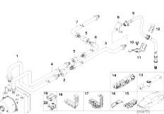 E46 316ti N42 Compact / Brakes/  Rear Brake Pipe Asc-2