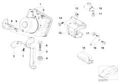 E46 316ti N42 Compact / Brakes/  Hydro Unit Dsc Fastening Sensors-2