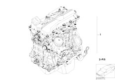 E46 316Ci N45 Coupe / Engine/  Short Engine