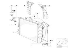Radiator Expansion Tank Frame on E46 M3 Clutch And Transmission Diagram