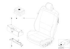 E46 M3 CSL S54 Coupe / Seats Sports Seat