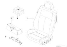 E46 M3 CSL S54 Coupe / Seats Basic Seat