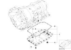 E91 335xi N54 Touring / Automatic Transmission Ga6hp19z Sump