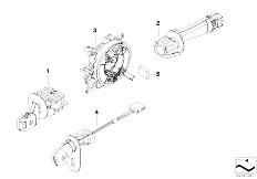 E39 520i M52 Sedan / Vehicle Electrical System/  Steering Column Switch