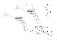 E30 318i M40 Cabrio / Universal Accessories Support Snowboard