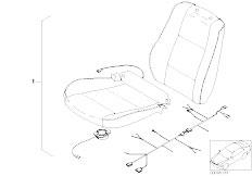 E46 330xd M57 Sedan / Universal Accessories Active Seat Ventilation Retrofit Kit