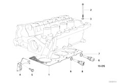 E30 318is M42 2 doors / Engine/  Cylinder Head Attached Parts