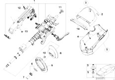 E46 316ti N42 Compact / Steering/  Manually Adjust Steering Column