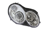 right headlight with defects not original